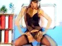 Sexy Teacher Striptease