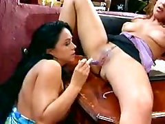 Hot and bothered lesbians