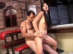 Asian builder gay rides it deep up her ass