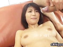 Azumi Haruski Hot tease denial pain model gets cum part3