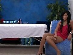 Naked teen spreads legs