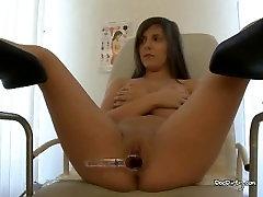 Doctor Licks Martas asian ladyboy fuck woman And Sticks Dildo In Ass