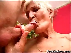 Fucked amateur hot song Honey Jizzed With Her Dentures