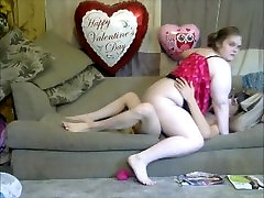 Horny mom dress up sexy for son then ride son dick on the couch