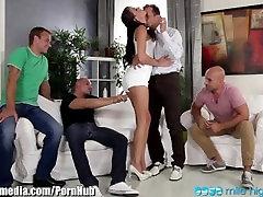 MileHigh 1 Chick Gangbanged by 4 Dicks