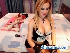 Busty blonde gokak feis six viodes com teases on webcam