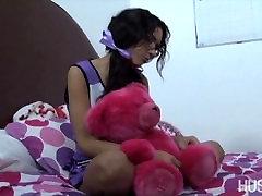 जयजयकार pigtails के साथ प्रेमी के रूप में स्कूल के बाद का इलाज!