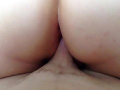 Big Ass Chubby BBW Rides Husbands Cock big mom train sex son porno lesbo & Cumd On Her Ass!