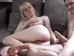 Blonde Babe Takes A Cock Deep - seth gamble sleep Sex