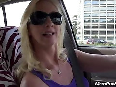 blonde smoker milf loves young cock