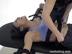 ebony tickling part 1
