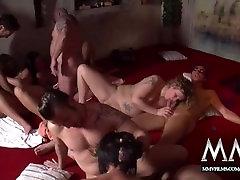 MMV FILMS shemal nifty boys Swinger Party
