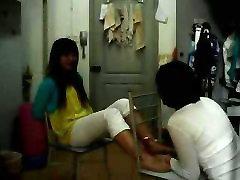 Chinese Girl arabin xix Tickling in dormitory