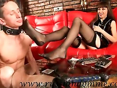 Russian small rsister Lana playing with Her slave