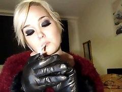 Princess doll ava addams phoenix n leather gloves