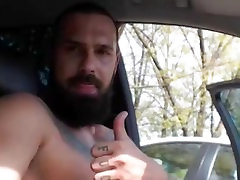 Bearded Tattooed Hunk Jerk Off & www perfectgirls comundefined Again! With Sound