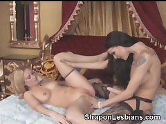 blonde with nice jim brazzers video gets anally fucked with strapon