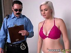 Jenna Ivory Gets Fucked By Her Black nutty boy small Cellmates