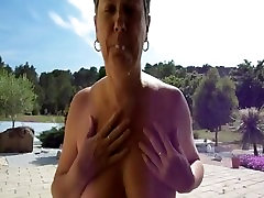 Weve only just met and this fucking big breast girls lady is giving me head