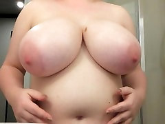 Oiling and playing with my younger girls first time G tits