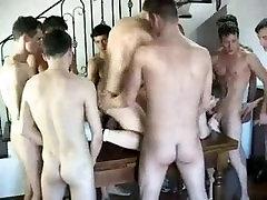 Mėgėjų Nepabalnotas DP Berniukų Grupės Fuck