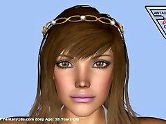 Zoey 18 michele lio amžiaus 3D Paauglių Moterų Galerijų Ne www.Fantasy18s.com