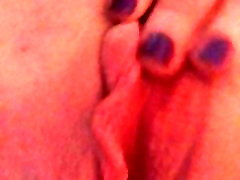 Playing with my wet lip kissing only vidios pussy