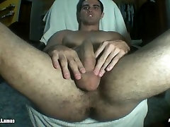 Jock Stripper Cums Hard