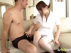 AzHotPorn - Married Lady Cheats Gets a Cream Pie