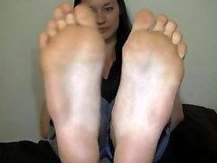 Large asian feet Yum