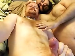 2 Danish - Young Hairy Guy & Mature Daddy Guy Bears Show 2