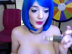 Dan1 Blu3 MyFreeCams Public Big Tit Wax Hitachi Masturbation Show Webcam