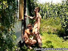 Awesome Gay Sex Outdoor Partying