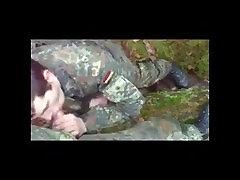 German Soldiers First Time intec girl sex Cum.
