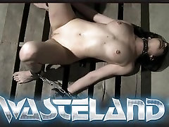 Bound blonde lokal pathan xxx slave hers flogged and pegged by lesbian Mistress