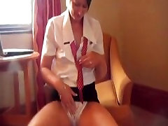 Mature british milf teases her pussy. Idell from DATES25.COM