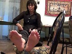 बड़े ass loves cock पैर