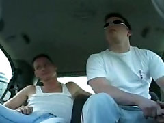 Stocky hunk in the van 1
