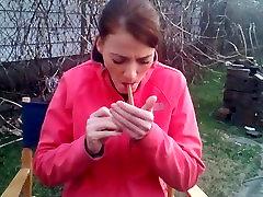 Jen curing beautys 10pounder addiction a cigar