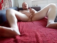 Danish Guy 24 Year & Fantasies Of Sex With Daddy Guy Cumshot Show