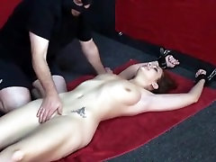 tied tickle and orgasm