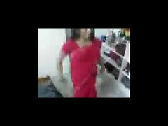 www.roshnidixit.in College Girl on Red Saree sex with BoyFriend at home