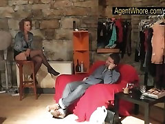 Reversed casting - slovak guy gets blowjob from xxx sisters and brodars MILF