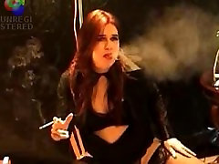 Smoking Shemale MichelleLove A Smoking Shemale MILF-3