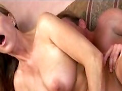 Stunning dick 19cm gets on her knees and takes long cock up her tight pussy