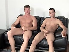 Hunks go danny lione xxx before their straight casting call