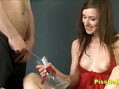 Naughty Teen Loves Pissing Sex