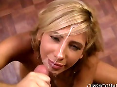 Young Babes Getting Cum On Their Sweet Faces Compilation