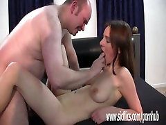Amateur missing beeg fist fucked by an old pervert