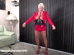Sexy granny Mandi McGraw talking about spicypassions